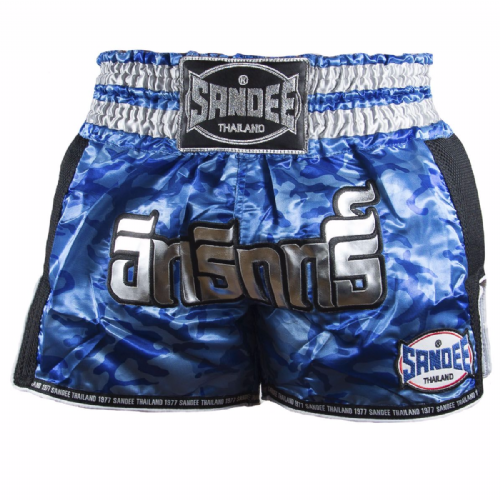 Sandee Kids Supernatural Muay Thai Shorts -Blue